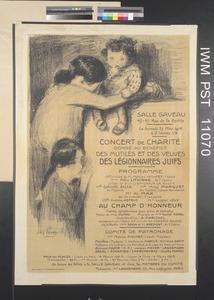 Concert de Charité....des Légionnaires Juifs [Charity Concert .... of the Jewish Legionaires]