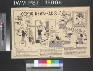 Good News for Adolf!