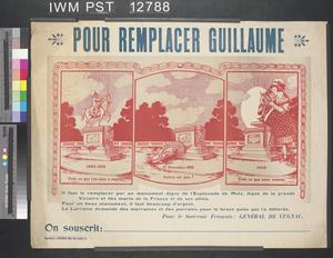 Pour Remplacer Guillaume [To Replace Wilhelm]