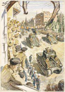 Victory Parade at Bremerhaven: 12th May 1945