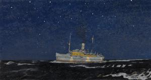 A Hospital Ship: Night