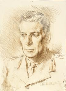 Colonel M Saunders, MC