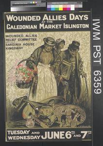 Wounded Allies Days at the Caledonian Market Islington