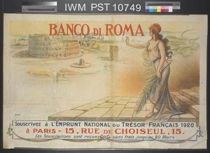 Souscrivez à l'Emprunt National du Trésor Français 1920 [Subscribe to the 1920 French Treasury National Loan]