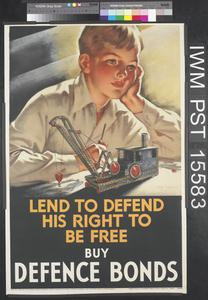 Lend to Defend His Right to be Free - Buy Defence Bonds