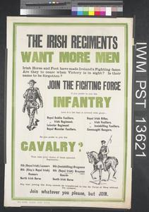 The Irish Regiments Want More Men