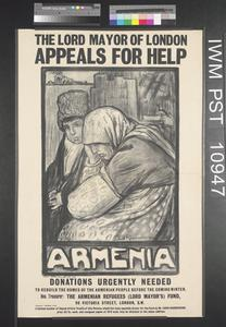 Armenia - The Lord Mayor of London Appeals for Help