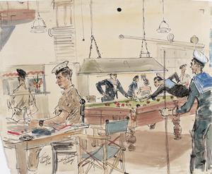 British Soldiers at the British Centre, Sydney