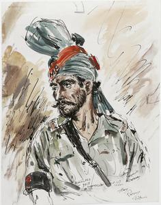 An Indian Military Policeman, Batavia, 1945
