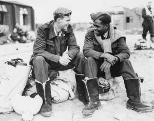 AIRCREW FROM CANADA AND THE WEST INDIES SERVING WITH THE ROYAL AIR FORCE DURING THE SECOND WORLD WAR