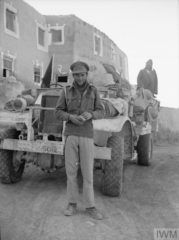 LONG RANGE DESERT GROUP LRDG DURING SECOND WORLD WAR (HU ...