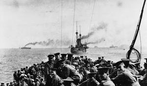 THE GALLIPOLI CAMPAIGN, 1915