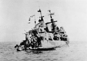 THE SINKING OF HMS EDINBURGH, MAY 1942