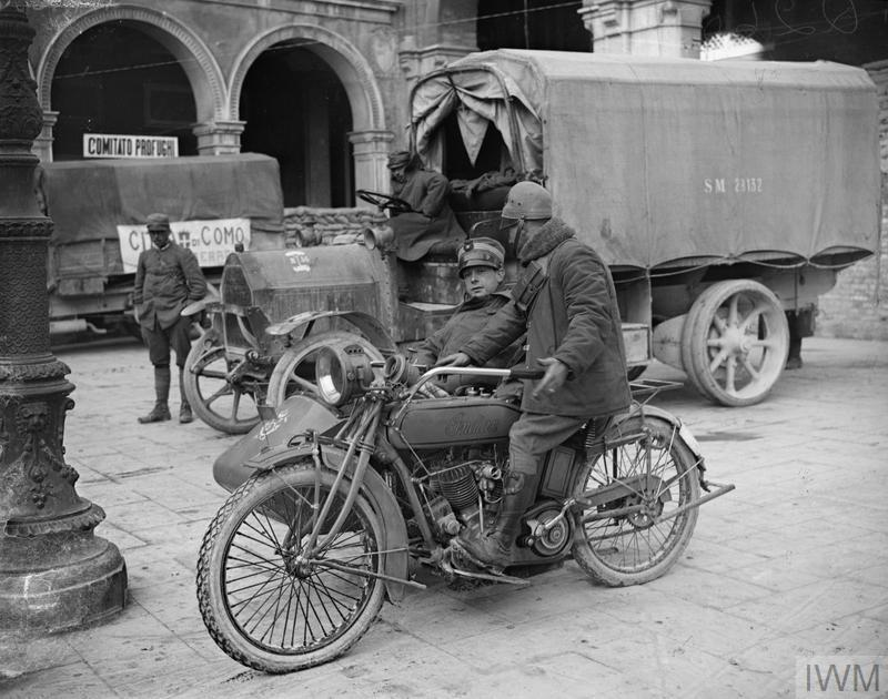 Motorcycles Of Manchester >> THE ITALIAN ARMY ON THE ITALIAN FRONT 1915-1918 (Q 26038)