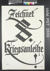 Zeichnet Achte Kriegsanleihe! [Subscribe to the Eighth War Loan!]