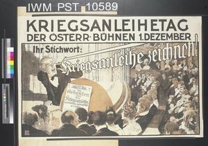 Kriegsanleihetag der Österreichischen Bühnen [War Loan Day of the Austrian Theatres]