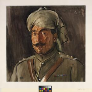 Risaldar, Guides Cavalry (Pathan)