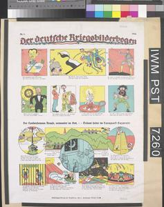 Der Deutsche Kriegsbilderbogen [The German Illustrated War Sheet]