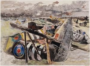 Crashed Gliders: The landing-zone at Ranville, 1944