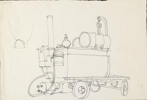 Tar Boiler: Series of sketches for work in IWM