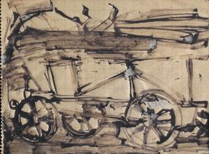 Cart: Series of sketches for work in IWM
