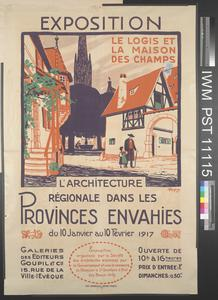 Exposition l'Architecture Régionale dans les Provinces Envahies [Regional Architecture in the Invaded Provinces]