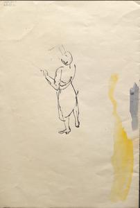 Woman: Series of sketches for work in IWM
