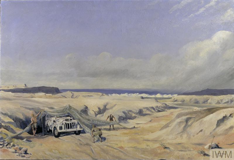 Caen: Series of sketches for work in IWM