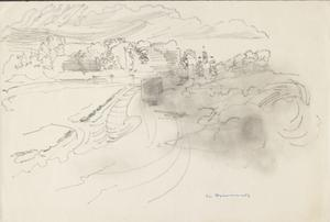La Délivrande: Series of sketches for work in IWM