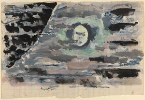 August Moon: Series of sketches for work in IWM