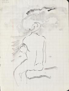Nude: Series of sketches for work in IWM