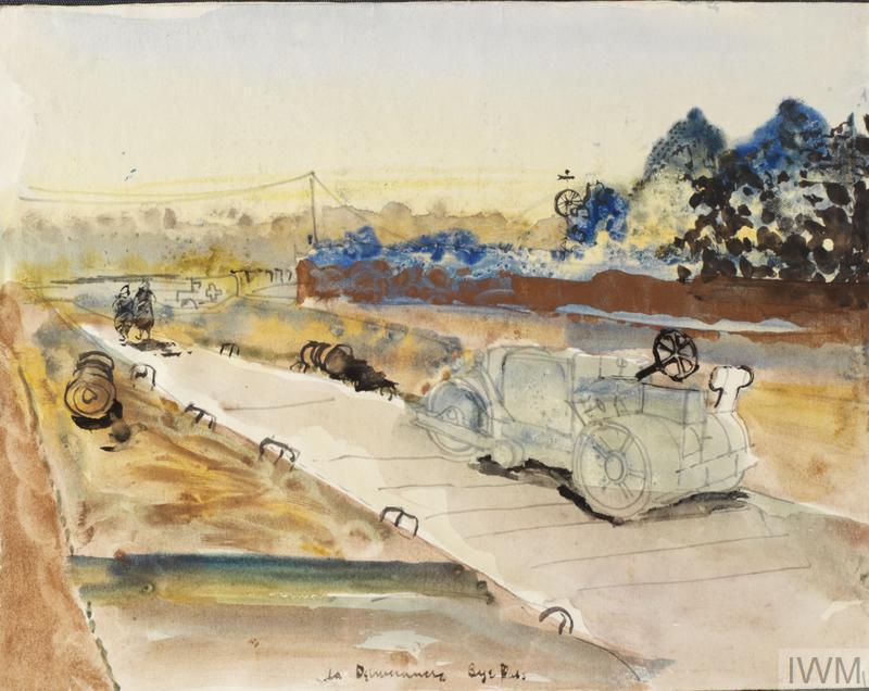 La Délivrande Bypass: Series of sketches for work in IWM