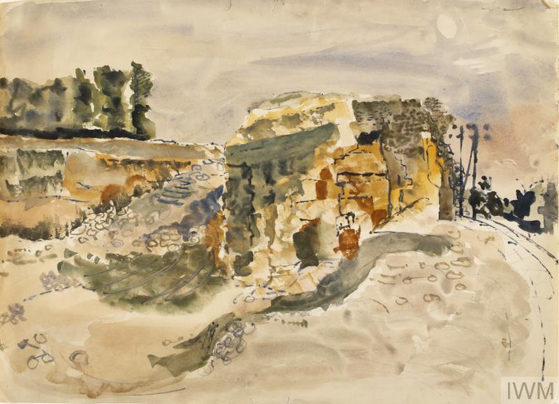 Ruins: Series of sketches for work in IWM