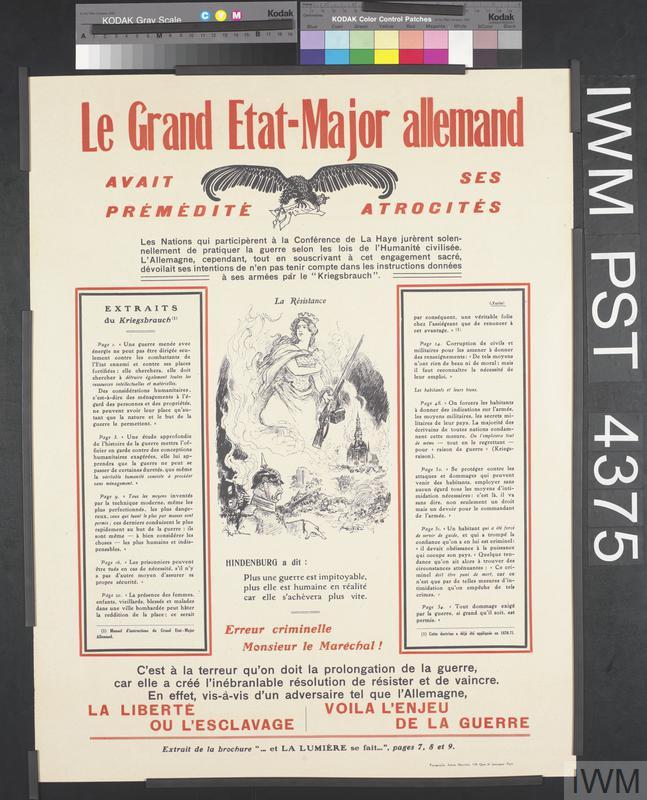 Le Grand Etat-Major Allemand