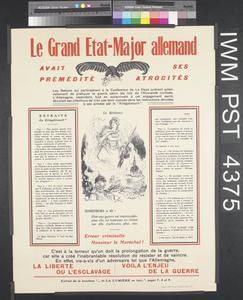 Le Grand Etat-Major Allemand