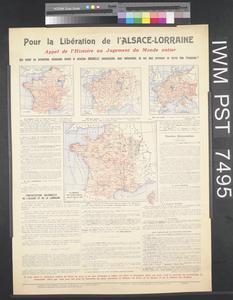 Pour la Libération de l'Alsace-Lorraine [For the Liberation of Alsace-Lorraine]
