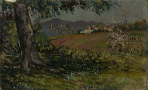 Landscape with Flowering Trees, 1911-1912