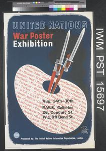 United Nations War Poster Exhibition