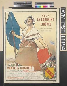 Pour la Lorraine Libérée [For Liberated Lorraine]