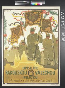 Upisujte Rakouskou Šestý Válecnou Pujcku [Subscribe to the Austrian Sixth War Loan]