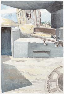 A Pill-box, St Aubin-sur-Mer, 1944