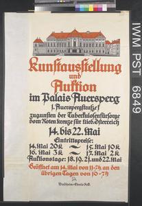 Kunstausstellung und Auktion [Art Exhibition and Auction]