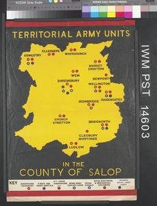 Territorial Army Units in the County of Salop