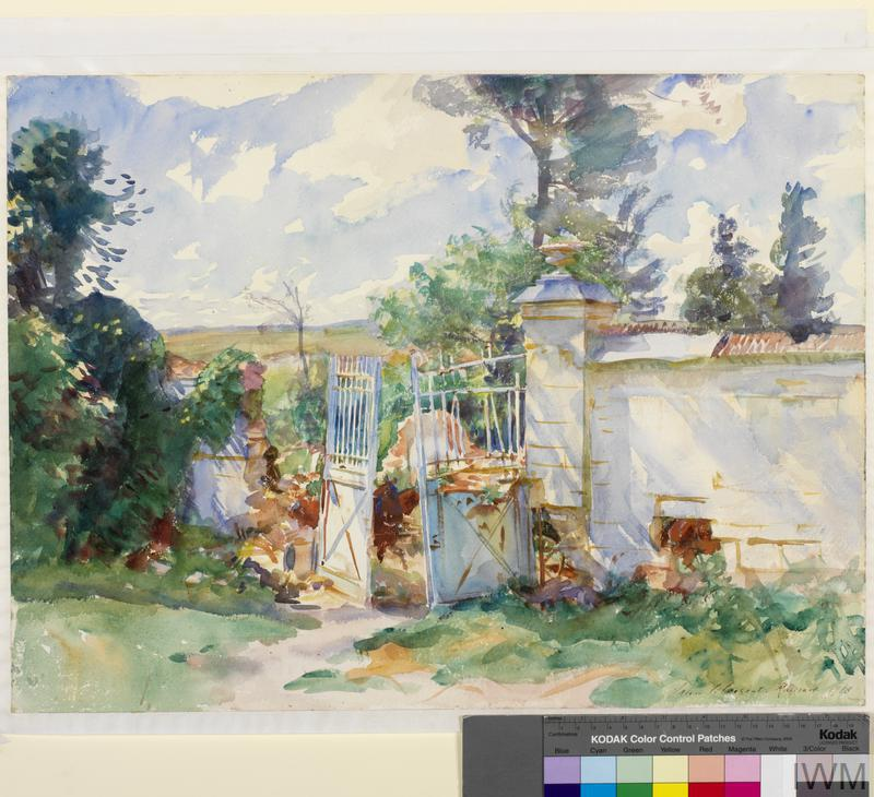 The Gates of a Château, Ransart