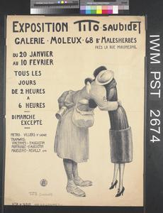 Exposition Tito Saubidet [Tito-Saubidet Exhibition]