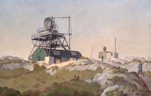 A CHEL (Chain Home Extra Low) Radar Station