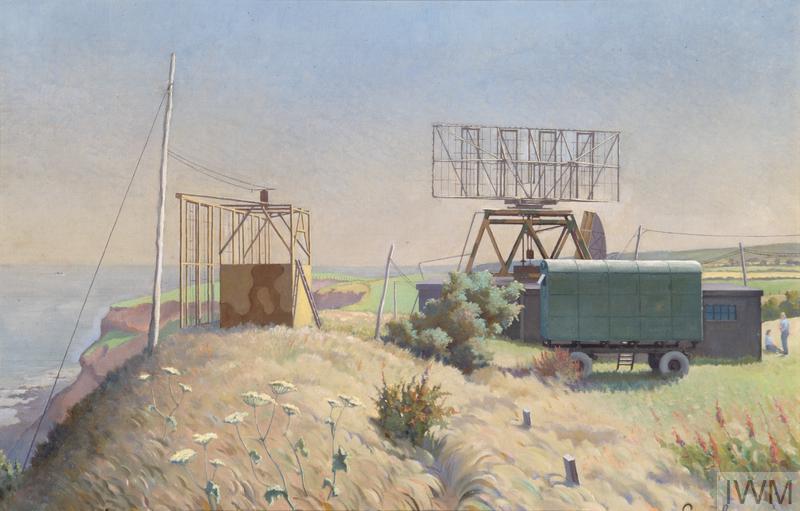 A Chl Chain Home Low Radar Station Art Iwm Art Ld 5734