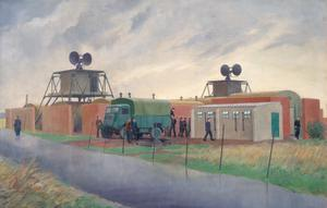 An OBOE/9000 Ground Radar Station