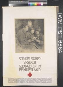 Spendet Bücher unseren Gefangenen in Feindesland [Donate Books for our Prisoners in Enemy Countries]