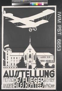 Ausstellung des Flieger Hilfs Komitees [Exhibition by the Airmen's Relief Committee]